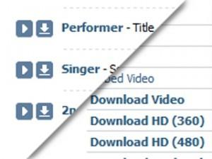 Как скачать музыку и видео с сайта Вконтакте?