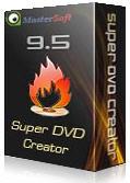 Скачать Super DVD Creator. Может создать меню для DVD  и скомпоновать DVD диск.