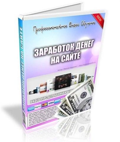 """Видеокурс """"Заработок денег на сайте"""""""